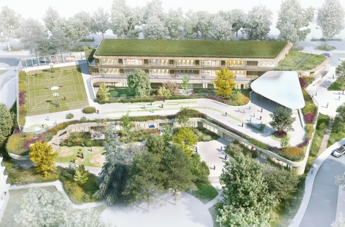 Groupe scolaire Europe Rochester, Tank Architectes